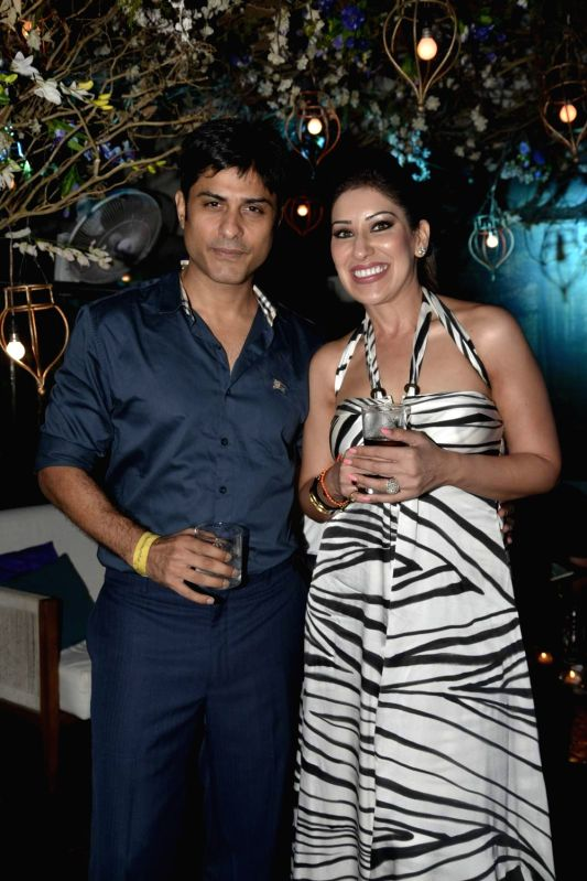 Actor Vikas Bhalla during the party of Couture Cabanas in association with Grey Goose, in Mumbai, on Nov 27, 2015. - Vikas Bhalla