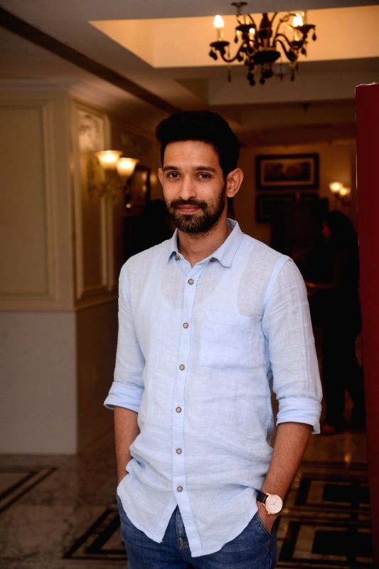 "Actor Vikrant Massey at the launch of television show ""Teen Paheliyan"" in Mumbai on April 13, 2018 . - Vikrant Massey"