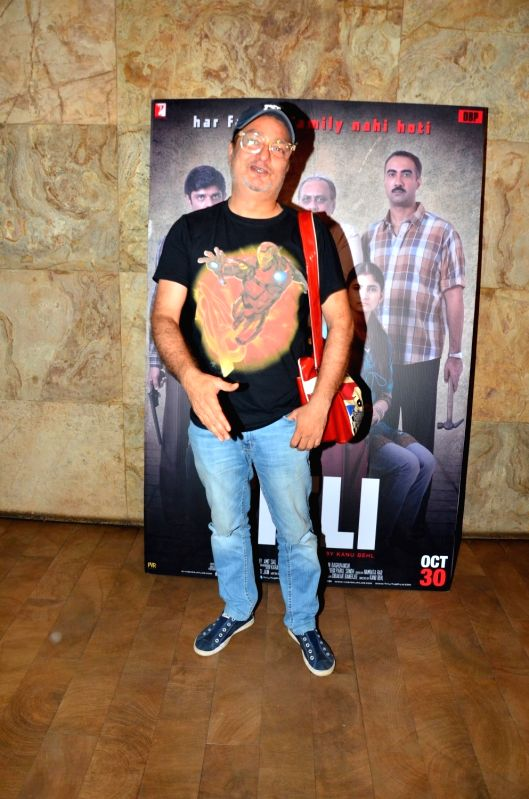 Actor Vinay Pathak during the screening of film Titly in Mumbai on Oct 29, 2015. - Vinay Pathak