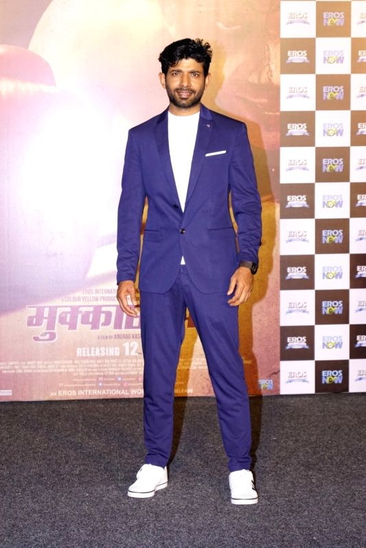 "Trailer launch of film ""Mukkabaaz"" - Vineet Kumar Singh - Vineet Kumar Singh"