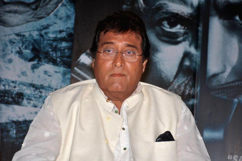 Actor Vinod Khanna during the press conference of the film Koyelaanchal in Mumbai on  May 06, 2014 - Vinod Khanna