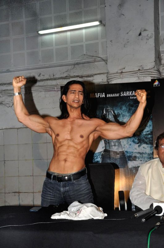 Actor Vipinno during the press conference of the film Koyelaanchal in Mumbai on  May 06, 2014 - Vipinno