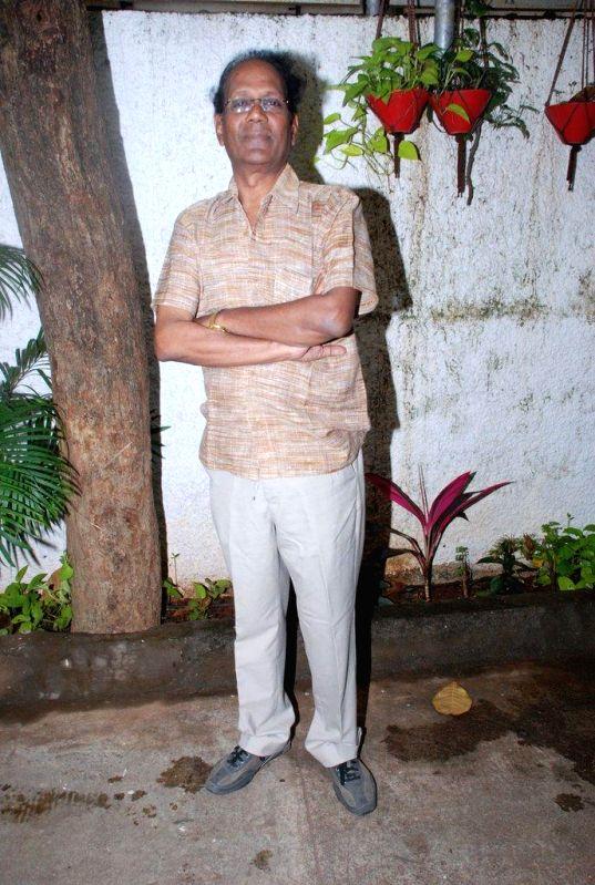 Actor Virendra Saxena during the trailer launch of film Jigariyaa, in Mumbai, on Aug. 26, 2014. - Virendra Saxena