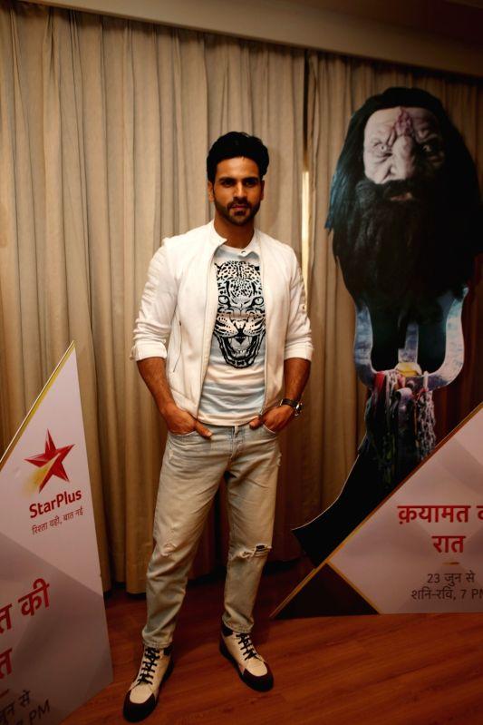"Actor Vivek Dahiya during a media interaction to promote his upcoming show ""Qayamat Ki Raat"" in Mumbai on June 8, 2018. - Vivek Dahiya"