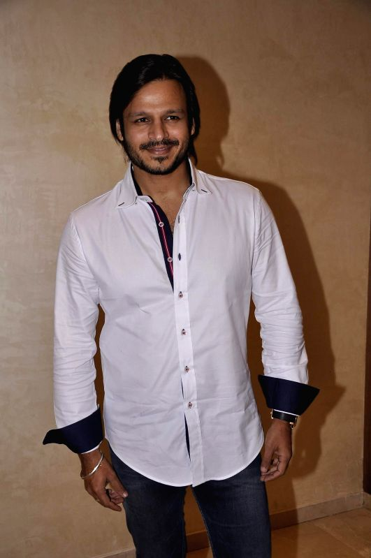 Actor Vivek Oberoi during 81st birthday celebrations of Nana Chudasama, World Chairman, Giants International in Mumbai in Mumbai on June 17, 2014. - Vivek Oberoi