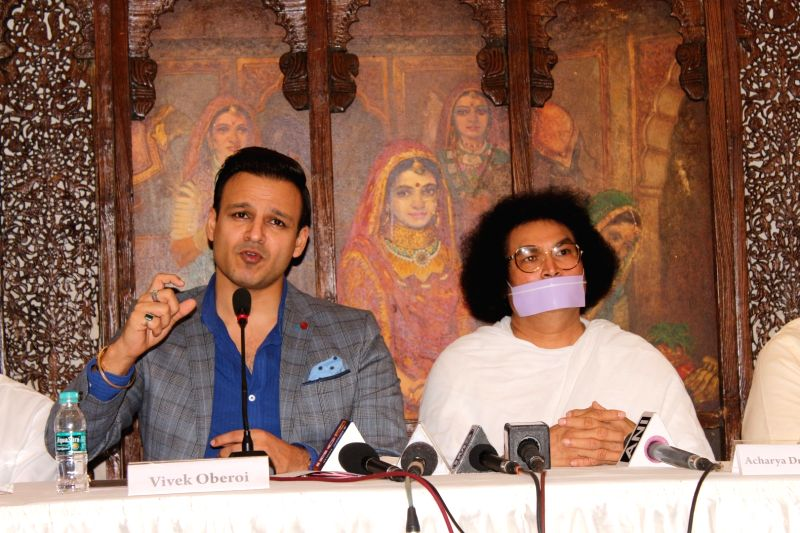 World Peace Conclave - press conference - Vivek Oberoi