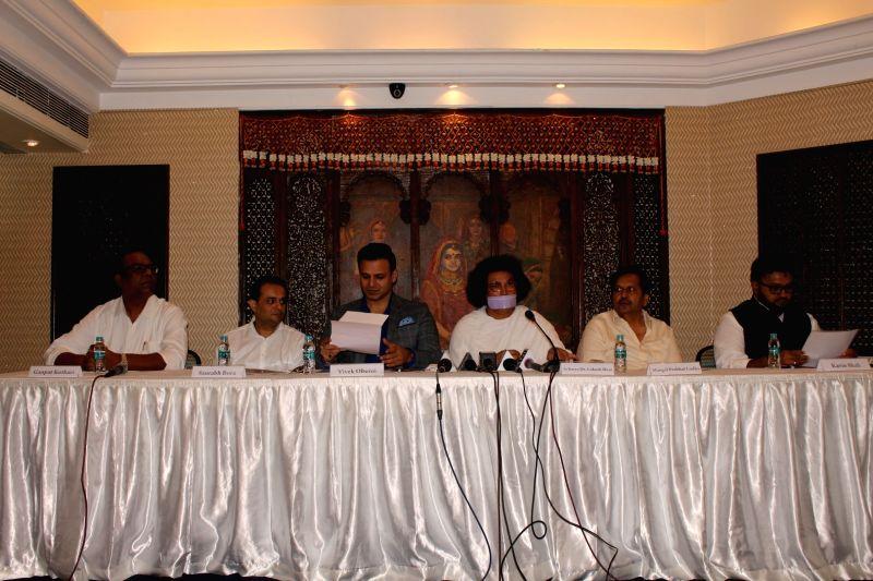 World Peace Conclave - press conference - Vivek Oberoi