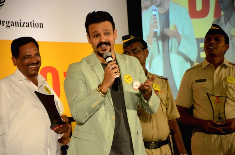 Actor Vivek Oberoi during a programme organised on the eve of World No Tobacco Day in Mumbai 30, 2017. - Vivek Oberoi