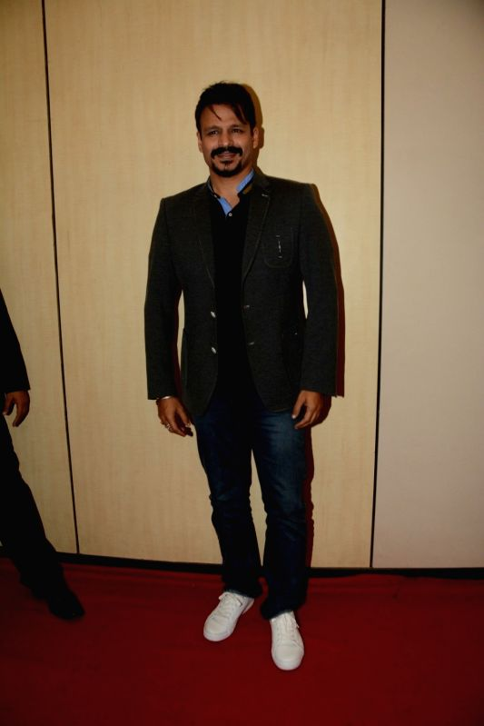 Actor Vivek Oberoi during the Dada Saheb Phalke Academy Awards 2017 in Mumbai on June 1, 2017. - Vivek Oberoi