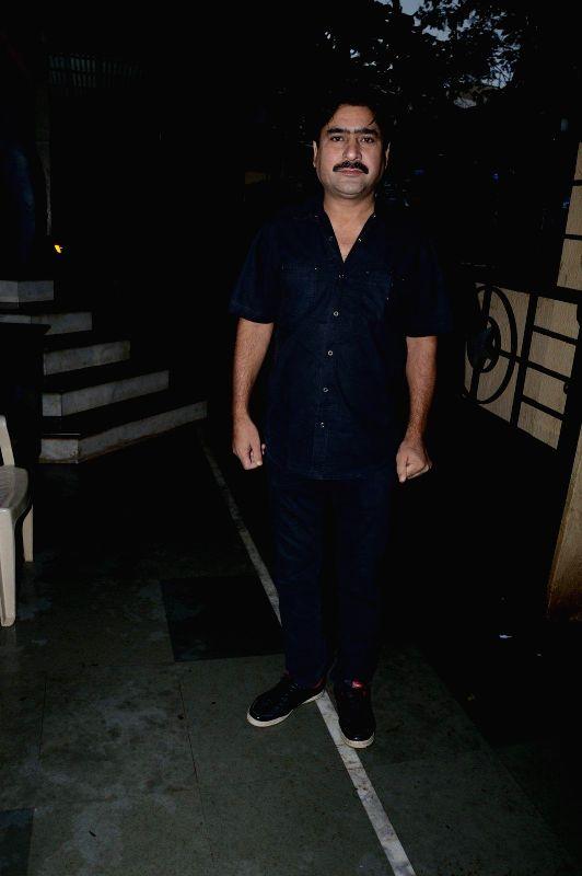 Actor Yashpal Sharma during a press meet of film Bazaar-E-Husn based on Munshi Premchandji's Urdu novel in Mumbai on July 11, 2014. - Yashpal Sharma