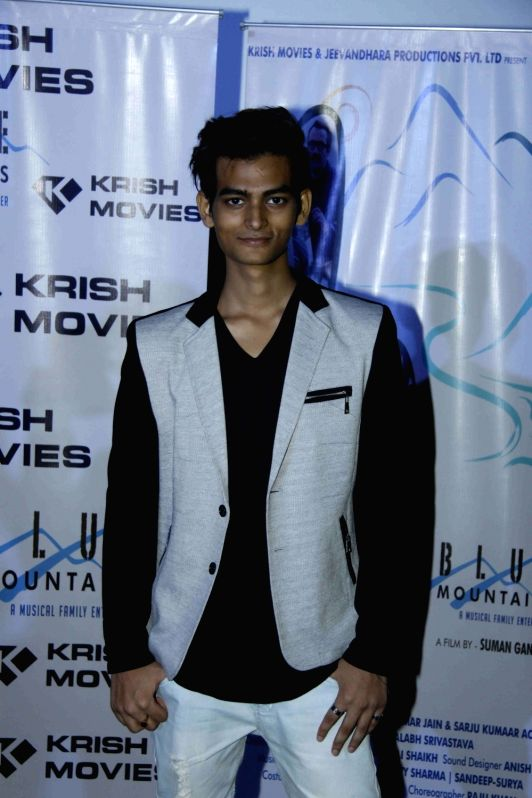 Actor Yatharth Ratnum during the celebration for the best feature film Blue Mountain in 9th International Children's Film festival of India in Mumbai on Dec 2, 2015. - Yatharth Ratnum