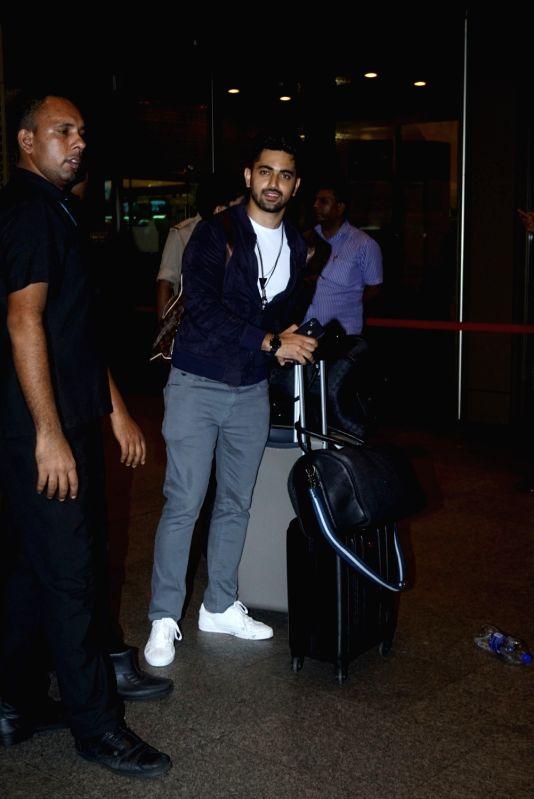 Actor Zain Imam leaves for Argentina to begin shooting for Khatron Ke Khiladi season 9 in Mumbai on July 11, 2018. - Zain Imam