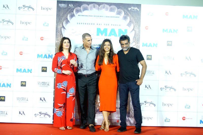 Song Launch Of Film Padman Akshay Kumar Twinkle Khanna Radhika
