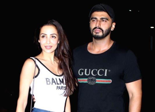 Actors Arjun Kapoor and Malaika Arora