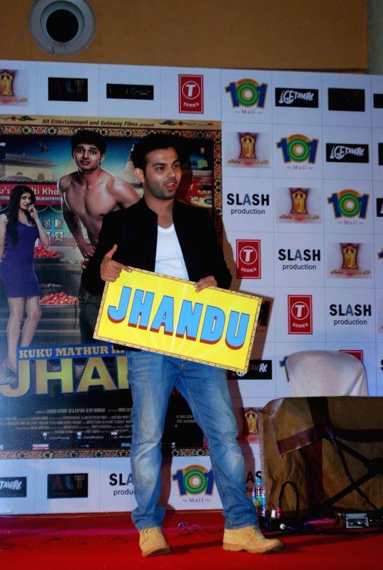Actors Ashish Juneja during the promotion of the film Kuku Mathur Ki Jhand Ho Gayi in Mumbai on May 03, 2014. - Ashish Juneja