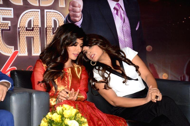Actors Chitrangada Singh and Richa Chadda during the announcement of Country Club's New Year celebrations in Mumbai on Oct 28, 2015. - Chitrangada Singh and Richa Chadda