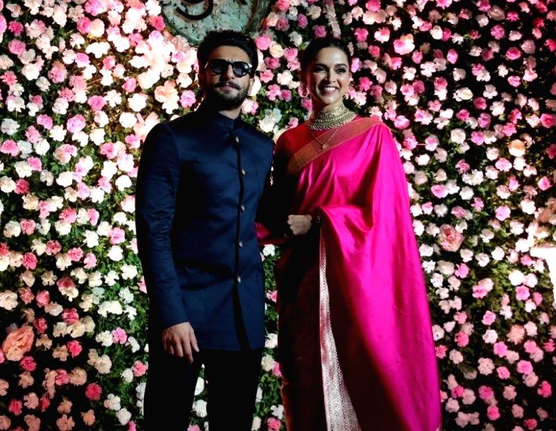 Actors Deepika Padukone and Ranveer Singh