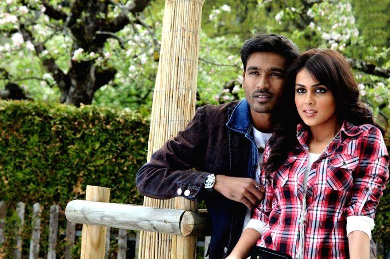 "Actors Dhanush and Genelia Starring ""Naradhudu"" Movie Stills - Dhanush and Genelia Starring"