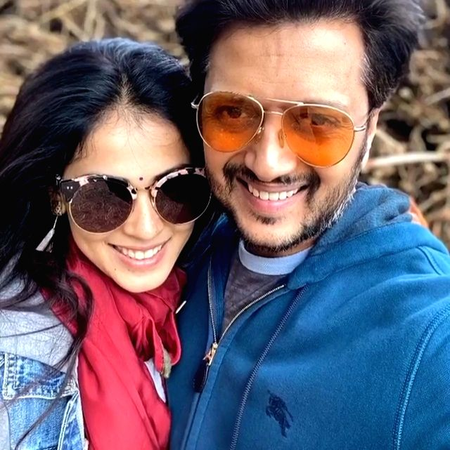 Actors Genelia Dehmukh and Riteish Deshmukh have redefined couple goals on their eighth marriage anniversary on Monday. Genelia says she loves being her husband's wife. Genelia on Monday took to Instagram, where she shared a video collage of herself along with Rietish and wrote a heart-melting message along side it.