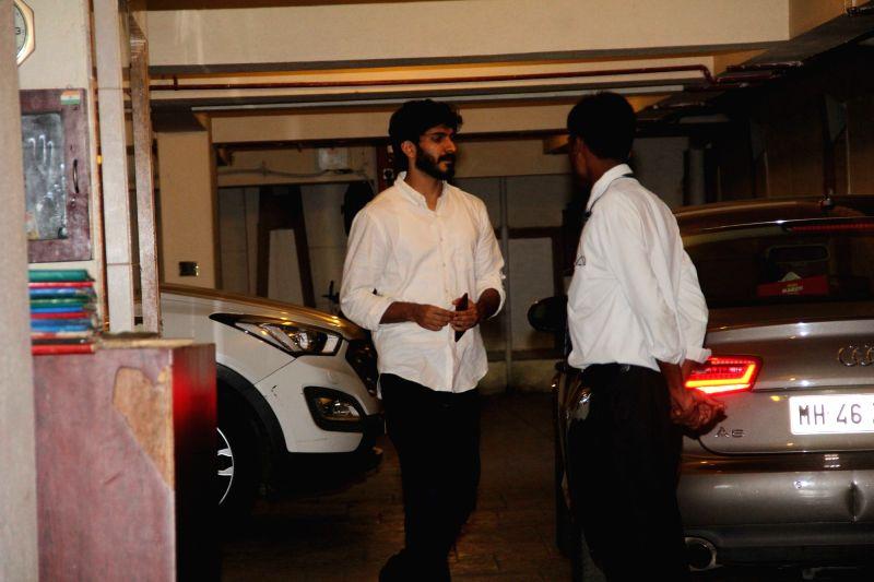Actors Harshvardhan Kapoor spotted at Kareena and Saif`s residence in Mumbai, on June 5, 2017. - Harshvardhan Kapoor