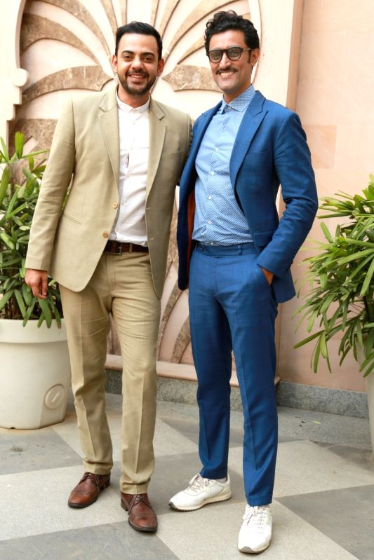 Actors Kunal Kapoor and Cyrus Sahukar during a programme in New Delhi, on June 6, 2017. - Kunal Kapoor and Cyrus Sahukar