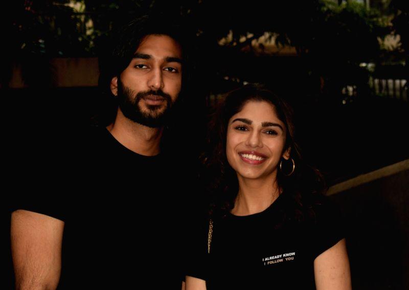 Actors Meezan and Sharmin Segal.