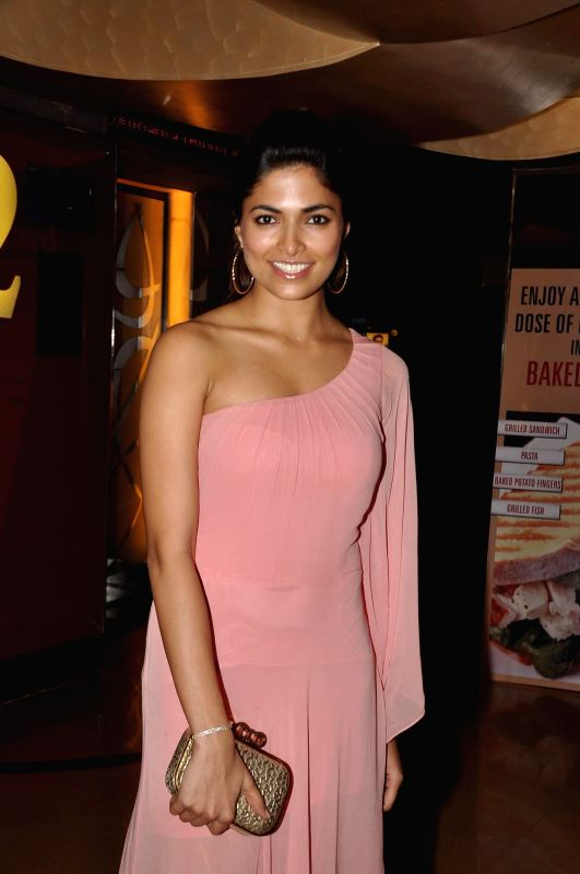 Actors Parvathy Omanakuttan during the special screening of the film PIZZA 3D in Mumbai on July 17, 2014. - Parvathy Omanakuttan