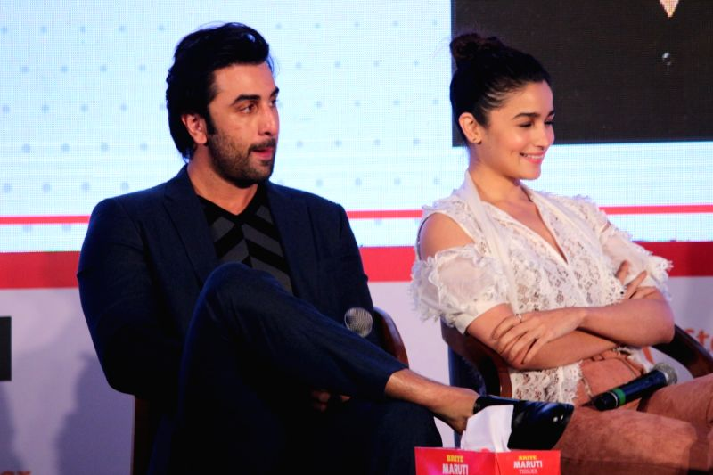 "Jio Mami Film Mela"" - Ranbir Kapoor and Alia Bhatt - Ranbir Kapoor and Alia Bhatt"