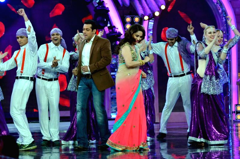 perfect dance by salman and madhuri
