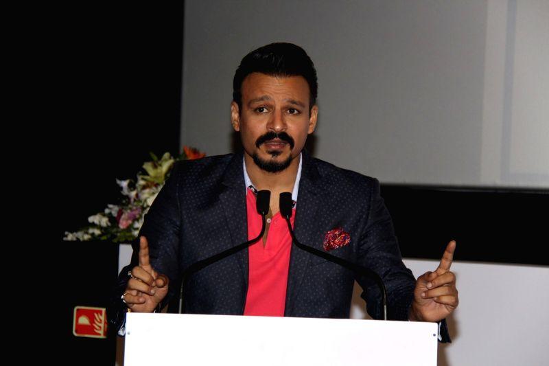 Actors Vivek Oberoi during a programme in Mumbai on June 7, 2017. - Vivek Oberoi