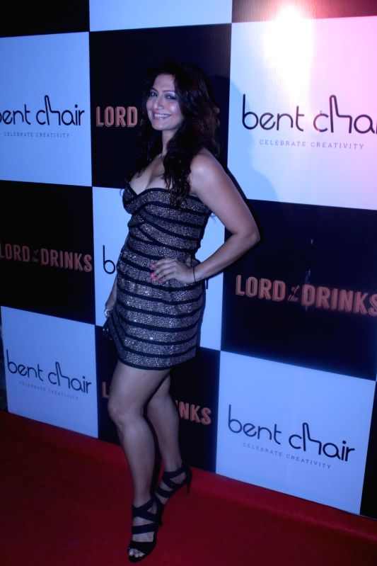 Actress Aakruti Nagpal during the launch of Resto-bar, Lord of the Drinks in Mumbai on April 28, 2017. - Aakruti Nagpal