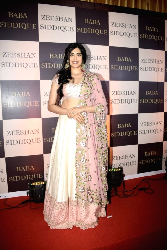 Actress Adah Sharma at politician Baba Siddique's iftar party in Mumbai on June 10, 2018. - Adah Sharma
