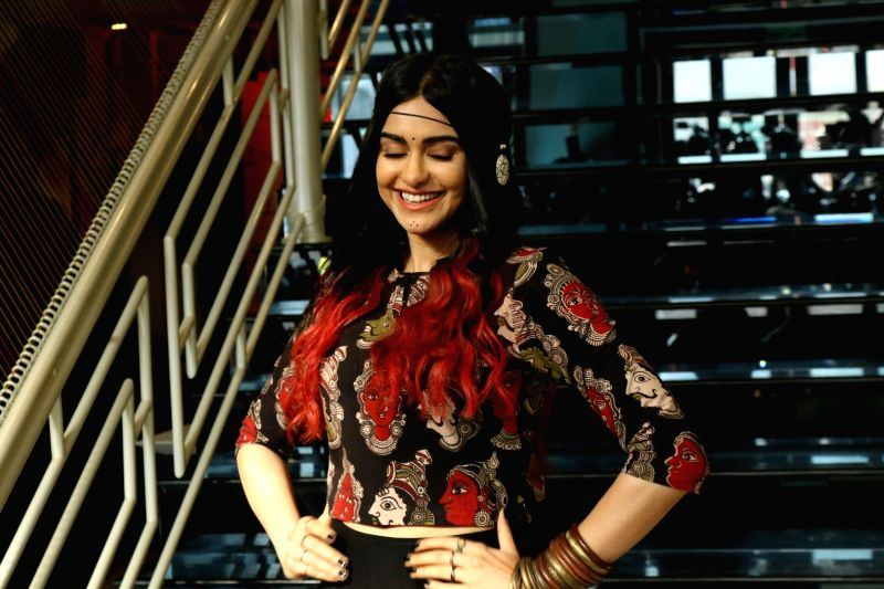 Actress Adah Sharma during the launch of Craftsvilla's new brand Anuswara, in Mumbai on April 19, 2017. - Adah Sharma
