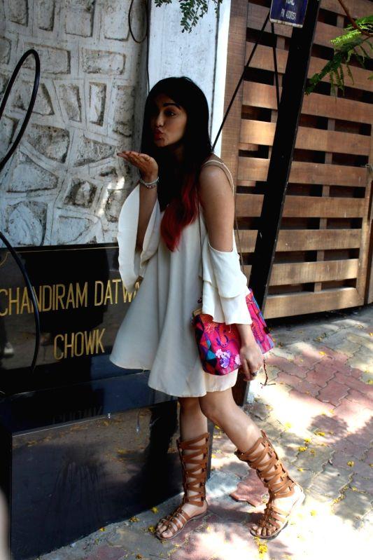 Actress Adah Sharma spotted at Korner House in Mumbai on May 23, 2017. - Adah Sharma