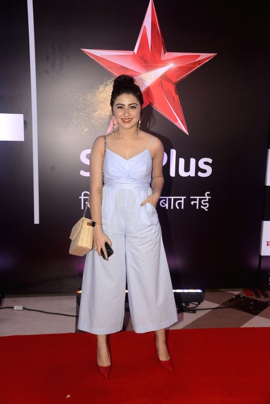 """Actress Aditi Bhatia during the celebration of her television show """"Yeh Hai Mohabbatein"""" completes 1500 episodes in Mumbai on July 25, 2018. - Aditi Bhatia"""