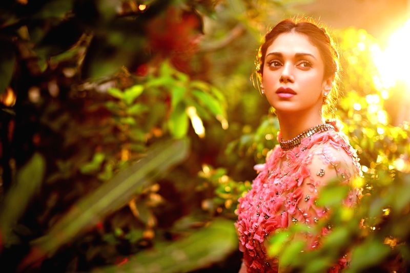 Actress Aditi Rao Hydari during a photoshoot for Hello magazine in Mumbai.