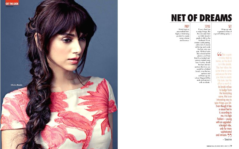 Actress Aditi Rao Hydari from Femina: Salon and Spa Magazine in Mumbai.
