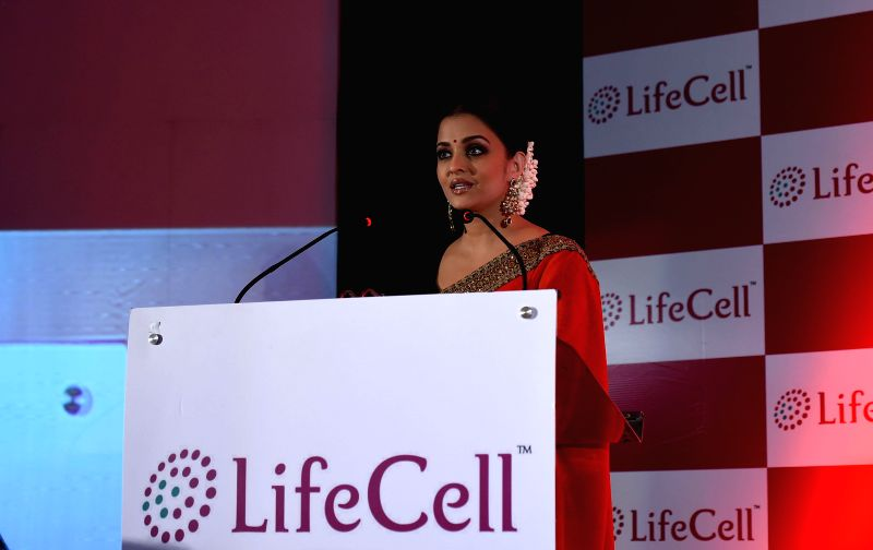 Actress Aishwarya Rai Bachchan during a programme in Chennai on July 27, 2014.