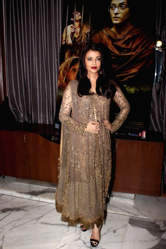 Actress Aishwarya Rai Bachchan during the event organised to celebrate the success of film Sarbjit, in Mumbai on May 26, 2016. - Aishwarya Rai Bachchan