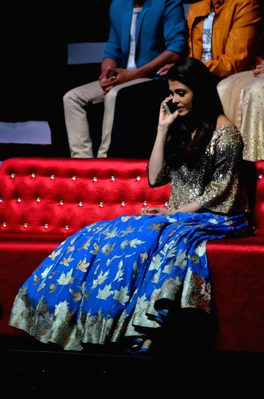 Actress Aishwarya Rai Bachchan during the film Sarbjit integration with Saregama Mumbai on May 5, 2016. - Aishwarya Rai Bachchan