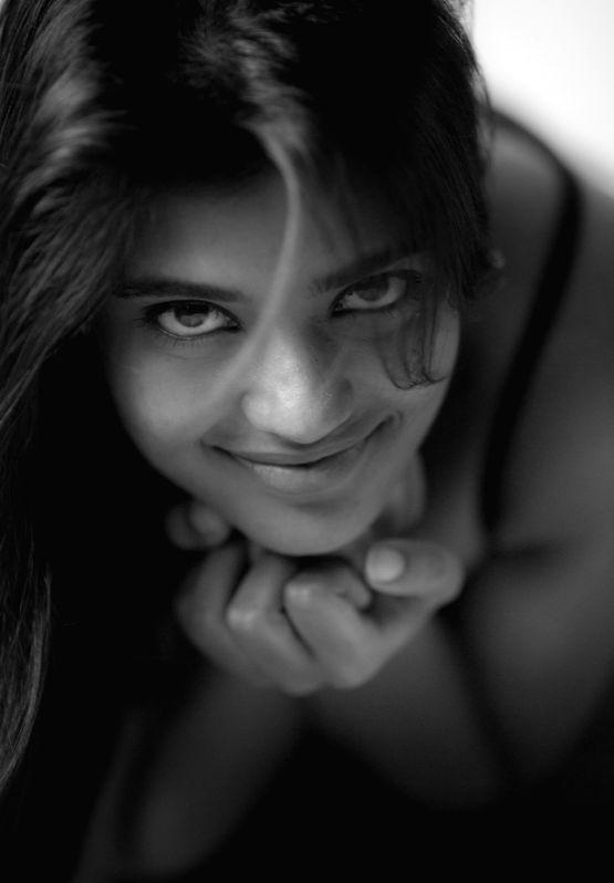 Actress Aishwarya Rajesh during a photoshoot.