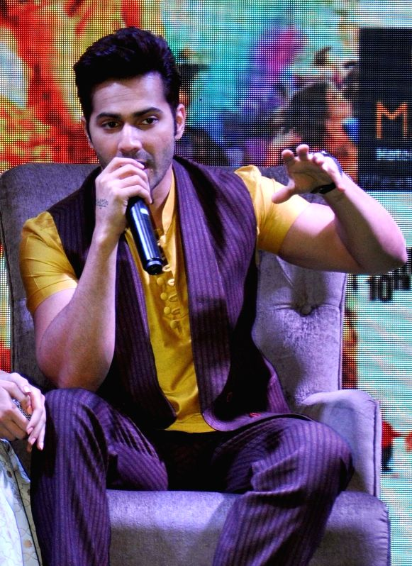 "Actress Alia Bhatt during a press conference organsied to promote ""Badrinath Ki Dulhania"" in Kolkata, on March 7, 2017. - Alia Bhatt"