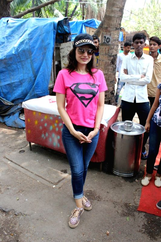 Actress Ameesha Patel during a programme in Mumbai on June 6, 2017. - Ameesha Patel