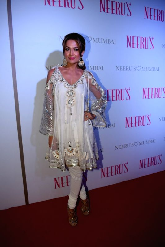 Actress Amrita Arora at a launch of clothing store on Nov 30, 2017 in Mumbai. - Amrita Arora