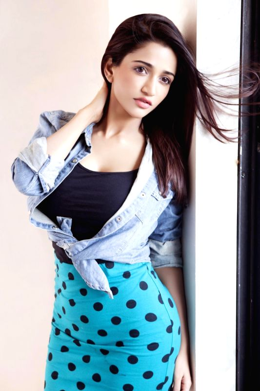 Actress Anaika Soti poses for a photograph during a photoshoot.