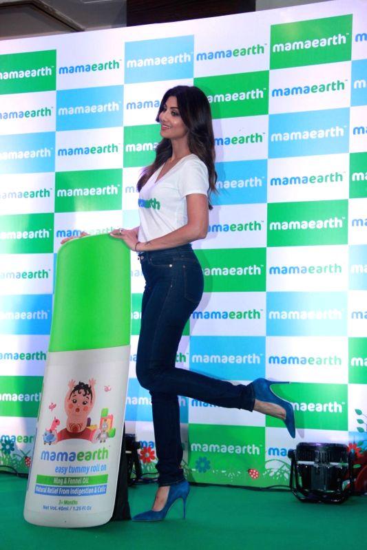 Actress and entrepreneur Shilpa Shetty Kundra during a promotional programme organised in Mumbai on April 19, 2018. - Shilpa Shetty Kundra