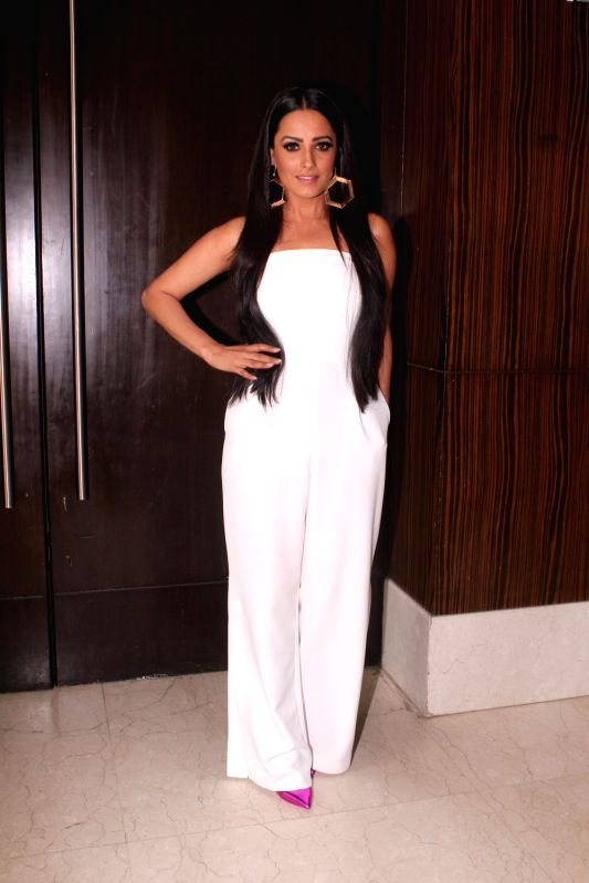 "Actress Anita Hassanandani at the launch of her upcoming show ""Naagin 3"" in Mumbai on May 15, 2018. - Anita Hassanandani"