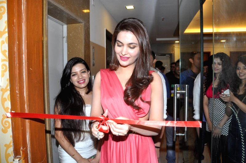 Actress Ankita Shorey during the launch of Fit Zone Gym in Mumbai on April 15, 2014. - Ankita Shorey