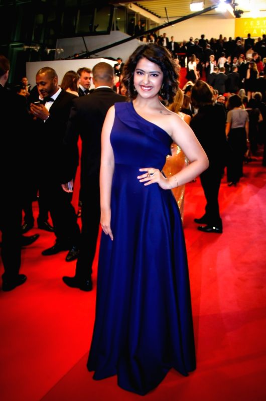 Actress Avika Gor at 69th Cannes Film Festival in France. - Avika Gor