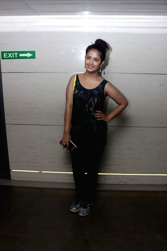 Actress Avika Gor during the screening of film Mantostaan in Mumbai on April 20, 2017. - Avika Gor